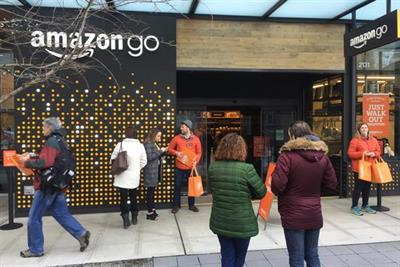 Amazon 'eyes Oxford Circus' for first UK shop without cashiers