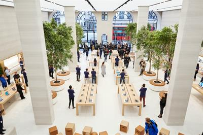 Apple to host series of events to mark reopening of Regent Street store