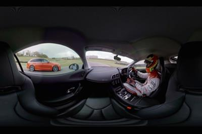Audi UK delivers VR driving experience at Goodwood Festival