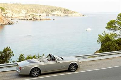 Rolls-Royce showcases latest models as part of luxury villa tie-up
