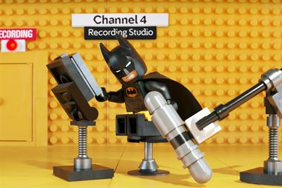 Lego Batman wins the day with Warner Bros and Channel 4