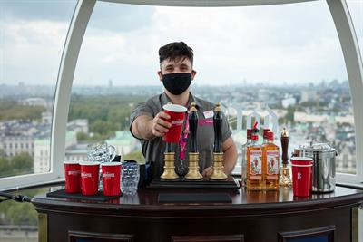 Beefeater opens tiny pub on the London Eye