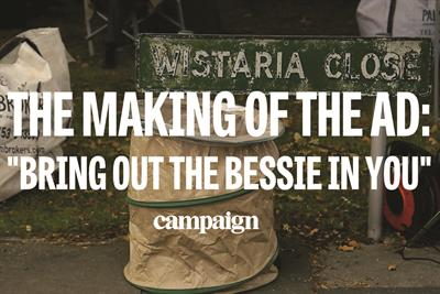 The making of the ad: Aunt Bessie's 'Bring out the Bessie in you'