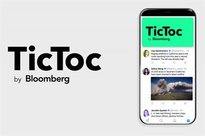 Time's up for TicToc as Bloomberg renames video news network