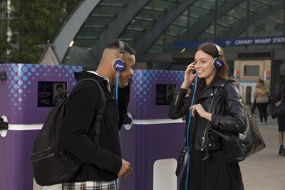 Cadbury creates 'human charging points' to beat afternoon slump