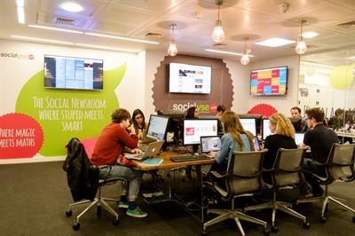 Cake partners with Socialyse for 'social newsroom'