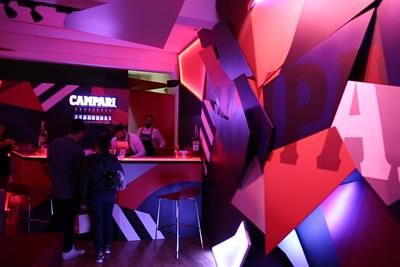 Campari's quest to get people 'inside' a cocktail
