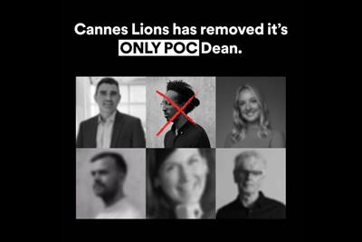 Cannes Lions under fire for lack of diversity