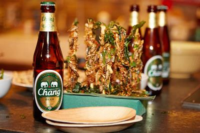 Insects and Chang Beer on menu at London pop-up