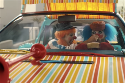 "BBH's ""Clowns"" for Audi drives off with Thinkboxes Award"