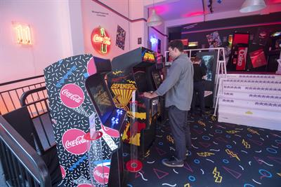 Inside Coca-Cola's Stranger Things-inspired arcade