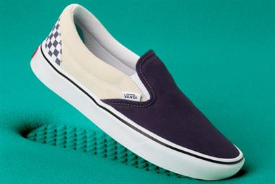 Vans rolls back the years for shoe launch