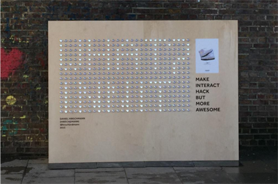 Converse activates in London with pop-up artworks