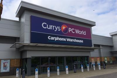 Currys PC World prepares for Boxing Day retail rush