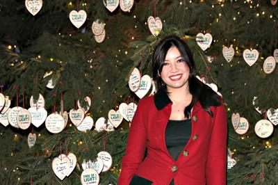 In pictures: NatWest unveils Macmillan Tree of Light