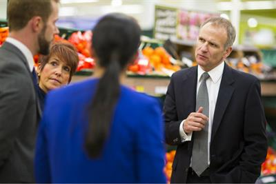 'Bring it on,' says Tesco boss Dave Lewis to Amazon groceries threat