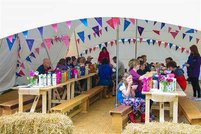 In pictures: Dorset Cereals takes over Cornbury Music Festival campsite