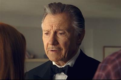 Watch Harvey Keitel's Wolf bark again in new Direct Line ads
