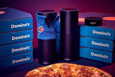You can finally ask Alexa to order you a pizza from Domino's in the UK