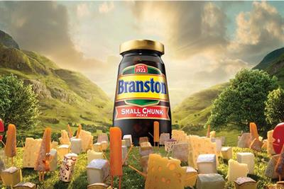 Branston calls creative pitch