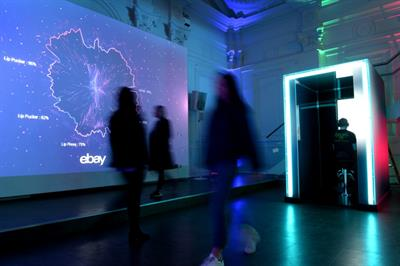 Ebay to open world's first 'emotion-powered' pop-up
