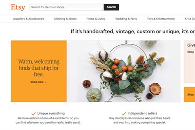 Etsy promotes wellness in latest activation