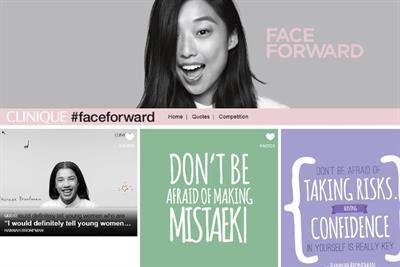 Clinique targets millennials with #FaceForward Tumblr campaign