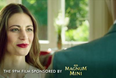 Channel 4 and Magnum Mini partner for 'sweet' 9pm film sponsorship