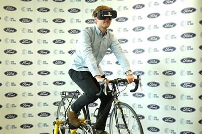 Ford's VR experience convinced 91% of drivers and cyclists to change their behaviour