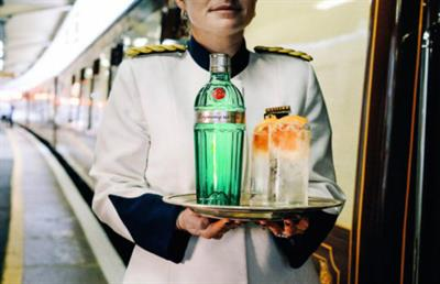 Tanqueray No. Ten to stage dining experience on train