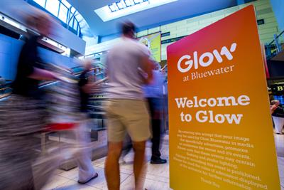 Bluewater to close Glow event centre