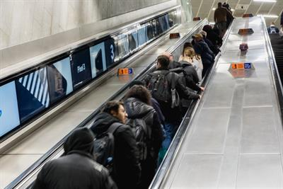 Google and Netflix among first brands to feature on new Tube escalator screens