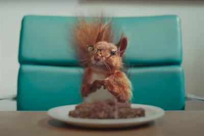 Unilever brand Graze debuts on TV with talking squirrel 'CEO'
