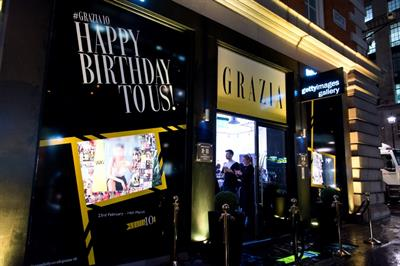 In pictures: Grazia unveils tenth anniversary exhibition