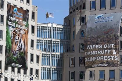 Greenpeace satirises P&G ads over palm oil deforestation