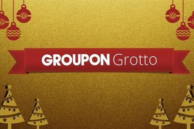 Groupon to open interactive Christmas Grotto