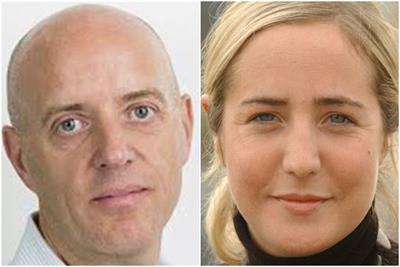 Nick Hewat and Natasha Murray to leave the Guardian