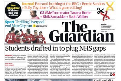 Guardian unveils new tabloid format