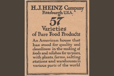 History of advertising: No 140: Heinz's 57 varieties