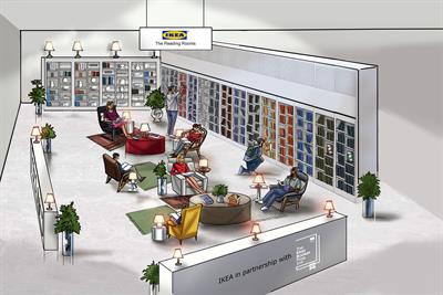 Ikea creates reading room for customers to pick up a Man Booker Prize longlist book