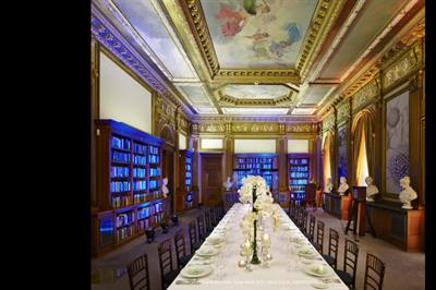 Royal Society opens library for events