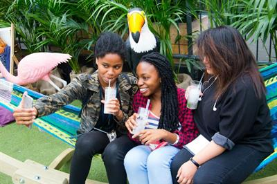 In pictures: Innocent activates Coconut Water with emoji-powered pop-up