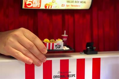 KFC creates mini restaurant in Portland