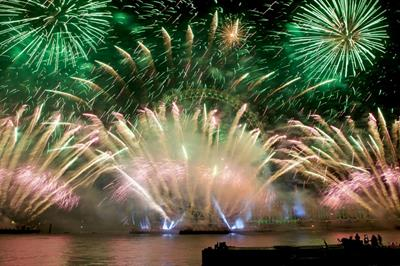 In numbers: Jack Morton produces London's NYE fireworks