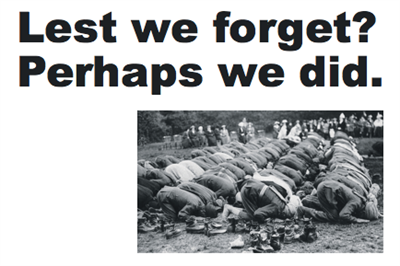 Newspaper campaign celebrates Muslims' contribution to WWI