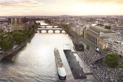 L'Oréal Paris to create floating catwalk for Paris Fashion Week