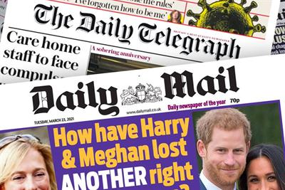 Telegraph outsources print ad sales to Daily Mail owner