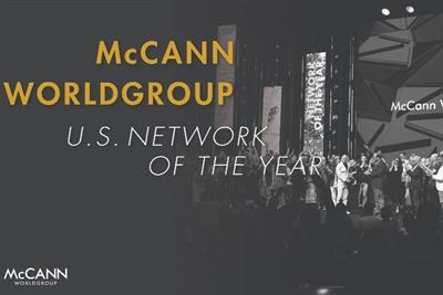 Global Creative Network of the Year: McCann Worldgroup (US)