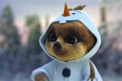 Comparethemarket.com unveils 'Frozen' Christmas Day ad
