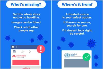 Facebook launches campaign to help people spot fake news